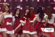 "Music Bank: ""Santa Baby"" - Nine Muses & Girl's Day"