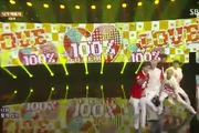 "Inkigayo: ""U Beauty"" - 100%"