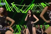 "Inkigayo: ""Black List"", ""Red"" - HyunA"