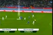 Ronaldo bứt tốc kinh hoàng