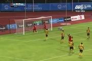 Công Phượng lập siêu phẩm đá phạt vào lưới U23 Malaysia