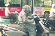 Nhiệt độ xe hơi tại trời Hà Nội