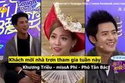 """Tiểu phẩm của Phó Tấn Bắc, Phi Khương Triều, Fei (missA) trong """"Chúng ta đều thích cười""""."""