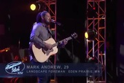 "American Idol: ""The Weight"" - Mark Andrew"