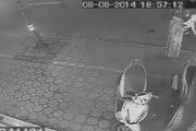 Trộm xe Lead nhanh như chớp trên phố