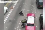Hôi của gần 42 tỉ VNĐ rơi vung vãi trên đường tại Hong Kong
