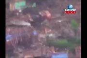 Thủ đô Nepal tan hoang sau động đất nhìn từ trên cao