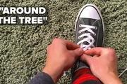 Mẹo hay cột giày thật nhanh trong 5 giây