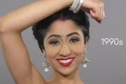 Sự thay đổi về chuẩn mực vẻ đẹp của phụ nữ Ấn Độ qua 100 năm