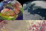 Không khí Giáng Sinh từ góc nhìn của vệ tinh NASA