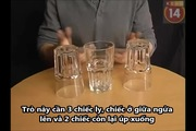 Những trò thách đố với chiếc ly khiến ai cũng phải thích thú