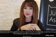 """Khởi My bất ngờ gọi điện hỏi về """"giới tính"""" của Kelvin Khánh"""