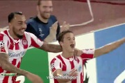Bảng A Champions League: Olympiakos 3-2 Atletico Madrid