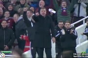 Premier League 2014/15: West Ham 1-2 Arsenal