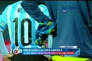 """Messi đứng bất động chụp ảnh """"tự sướng"""" cùng fan nhí Chile"""