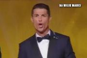Bản remix cược hài hước về tiếng hú kì dị của Ronaldo
