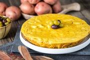 Tập tành làm món trứng đúc Tortilla Espanola kiểu Tây Ban Nha