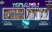 SNSD giành No.1 trên M! Countdown 27/8