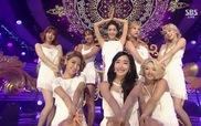 SNSD giành No.1 trên Inkigayo 30/8