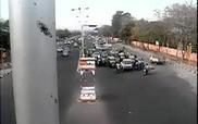 Tai nạn giao thông kinh hoàng tại Ấn Độ