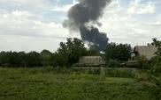 Máy bay Malaysia rơi tại Ukraine gây cột khói đen một góc trời