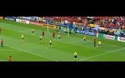 Màn trình diễn xuất sắc của Fernando Torres trong trận Tây Ban Nha - Thụy Điển