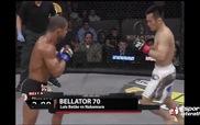 Pha knock-out tuyệt đỉnh bằng cùi chỏ của võ sĩ MMA