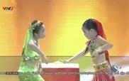 """Bước nhảy hoàn vũ nhí: Phần thi """"Cô dâu 8 tuổi"""" của Minh Châu - Mỹ Hiền"""