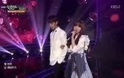 "Music Bank: ""Greedy"" - Kei (Lovelyz), Dokyeom (SEVENTEEN)"