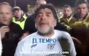 Maradona tát fan nữ, đập máy quay