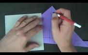 Tỉ mẩn gấp chiếc hộp origami trái tim ngọt ngào