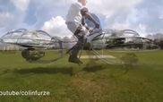 Phát minh điên rồ nhưng vô cùng ấn tượng, Hoverboard kiểu dáng như ô-tô bay