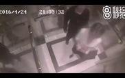 """""""Nữ cường nhân"""" hạ đo ván yêu râu xanh trong thang máy chỉ sau 5 giây khiến cư dân mạng hả hê"""