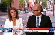 Nữ MC bật khóc khi đưa tin về vụ bắt cóc con tin tại Sydney