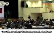 Thủ tướng Lý Quang Diệu thẳng thắn ngắt lời khán giả hỏi chuyện riêng tư