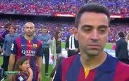 Barcelona nâng cup vô địch La Liga mùa giải 2014/2015