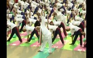 Thủ tướng Ấn Độ cùng 35.000 người đồng diễn yoga