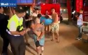 Nạn nhân vụ cháy nổ tại công viên nước Đài Loan hoảng loạn bỏ chạy