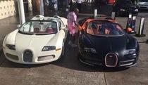 Bộ đôi siêu xe Bugatti Veyron giá 1.500 tỷ của Mayweather