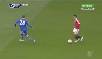 PL 2015/16: Man Utd 1-1 Leicester City