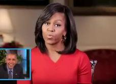 Ông Obama xuất hiện trên truyền hình và đọc thơ tình tặng vợ
