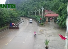 Quảng Ninh: Điểm ngập nặng nhất trên quốc lộ 18 đã thông xe
