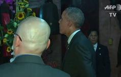 Tổng thống Obama thăm chùa Ngọc Hoàng ở TPHCM