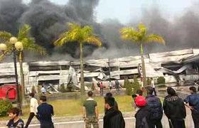 Bắc Ninh: Cháy KCN Yên Phong, thiêu rụi hàng ngàn mét vuông nhà xưởng