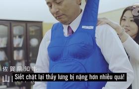 Đàn ông Nhật thử mang thai ( có logo AF)