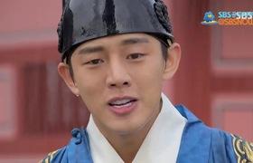 """Cảnh hôn trong """"Tình sử Jang Ok Jung"""""""