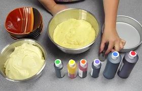 Làm bánh kem