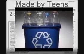 Tái chế chai nhựa tiện dụng bất ngờ