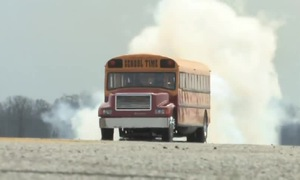 Jet School Bus Blasts Off!