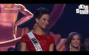 Phút đăng quang của Top 5 cô gái hoàn hảo nhất cuộc thi Hoa hậu hoàn vũ 2014
